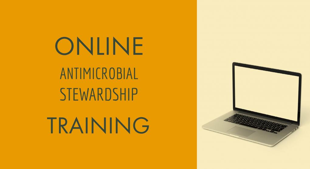 Online Antimicrobial Stewardship Training announcement